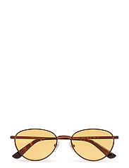 WOMEN'S SUNGLASSES - COPPER LIGHT BROWN/ORANGE