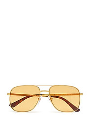 WOMEN'S SUNGLASSES - GOLD/ORANGE