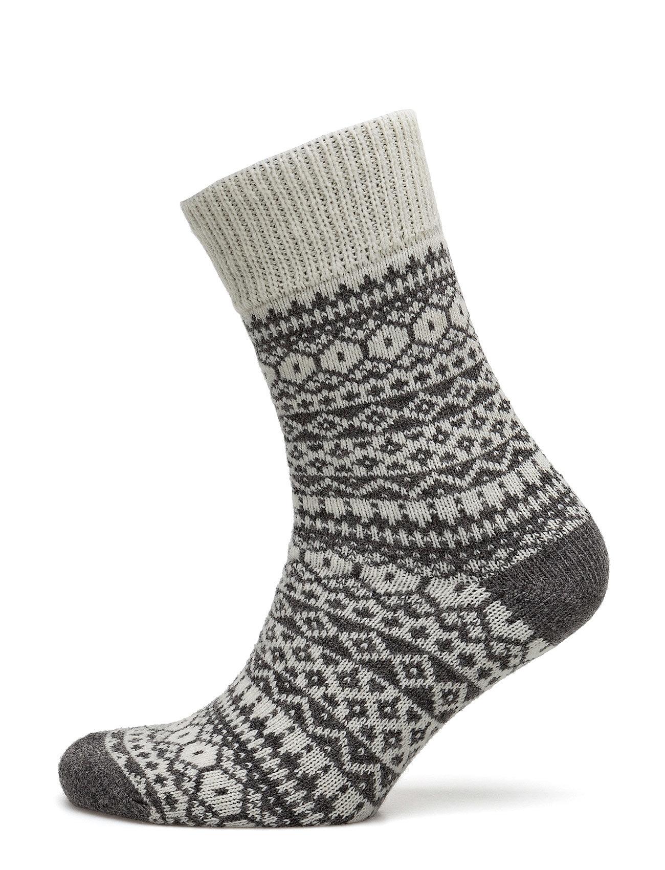 Ladies Anklesock, Heritage Home Sock Vogue Strømpebukser til Damer i Off-White