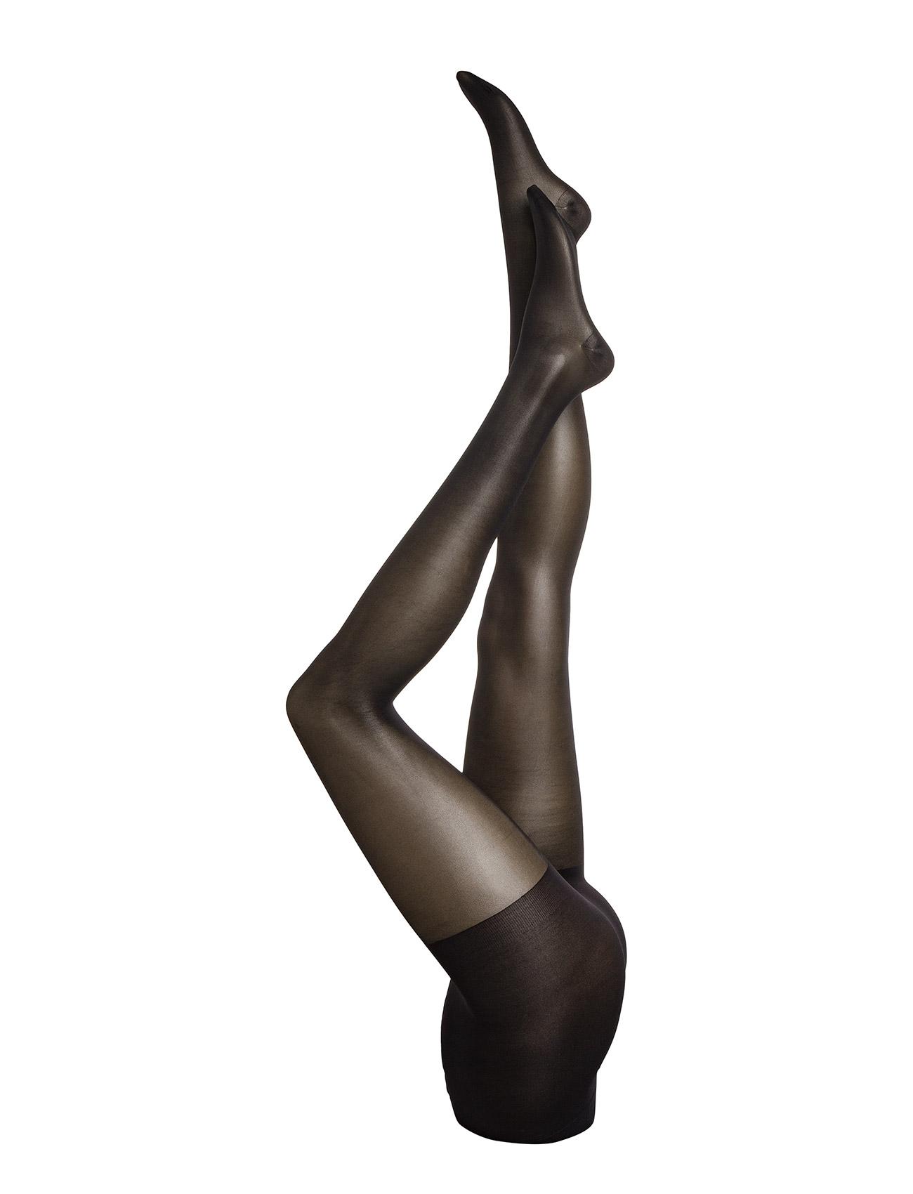 Ladies Den Pantyhose, Support 40den Vogue Strømpebukser til Damer i Sort