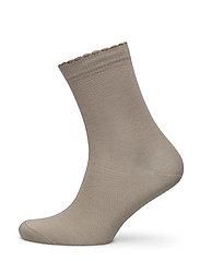 Ladies anklesock, Bamboo Socks - SAND