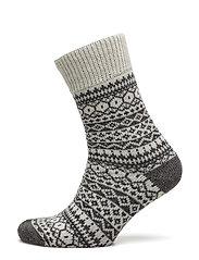 Ladies anklesock, Heritage Home Sock - OFF-WHITE