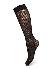 Ladies den knee-high, Halo Net Knee 30 - black