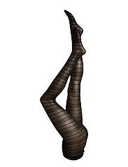 Ladies den pantyhose, Lacework 50 - black