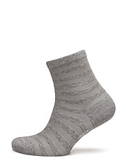 Vogue - Ladies Anklesock, Cotton Shiny Stripe