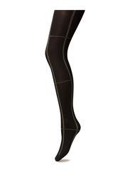 Ladies den pantyhose, Graph Check 60den - black