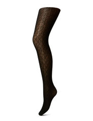 Ladies pantyhose, Cotton Cell - black