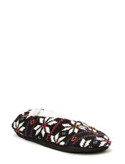 Naisten tossut, Colore Star Slippers - black