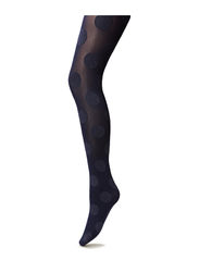 Ladies den pantyhose, Colore Spots 50den - black iris