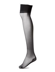 Ladies den stockings, Seam Stocking 15den - black