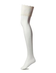 Ladies den stockings, Lace Stocking 20den - meringue