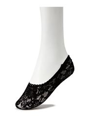 Ladies den steps, Lacy Steps - black