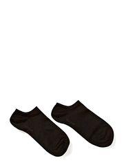 Ladies anklesock, Sneaker - Black