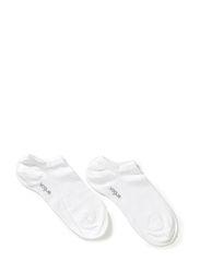 Ladies anklesock, Sneaker - White