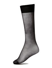 Ladies den knee-high, Sideria Sandalett Knee 17 2 pr - black