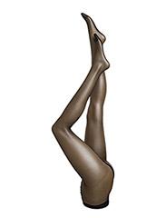 Ladies den pantyhose, Sideria Sandalett 17den - black
