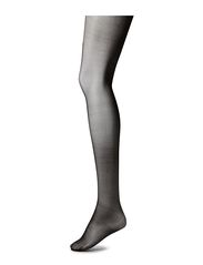 Ladies den pantyhose, Support Sandalett 12den - black