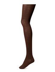 Ladies pantyhose, woolol 3D - mocca