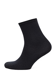 Ladies anklesock, Plain Merino Wool Socks - MARINE