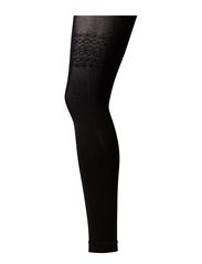 Ladies den leggings, Silhouette Opaque Leggings 60 - black