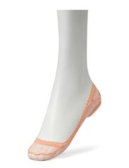 Ladies den steps, Dotty Lace Steps - dusty peach