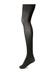 Ladies den pantyhose, Houndstooth 60den - carbon