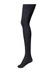 Ladies den pantyhose, Shiny Symmetry 90den - black iris