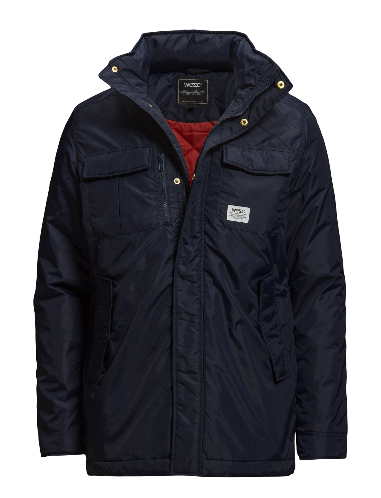 WeSC Asterix Padded Jacket Blue Iris 11159498
