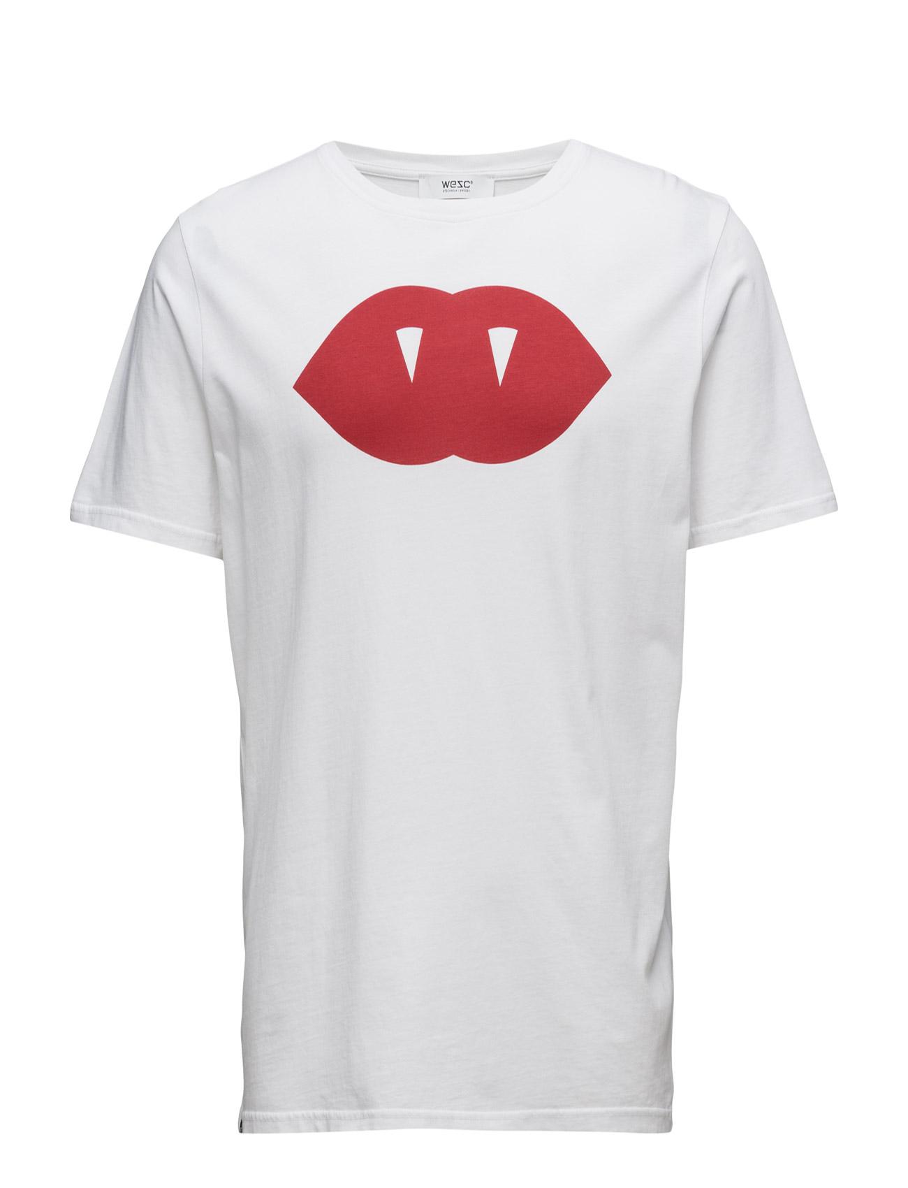 Bem S/S T-Shirt - Loose WeSC Kortærmede til Herrer i hvid