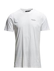 Charley s/s t-shirt white - white