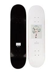 Warhol x WeSC Portra skateboard - WHITE