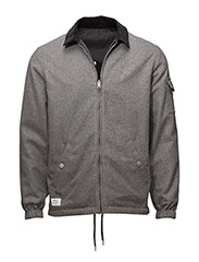 Coach Deluxe jacket - GREY MELANGE