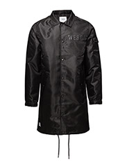 Coach coat trench coat - BLACK