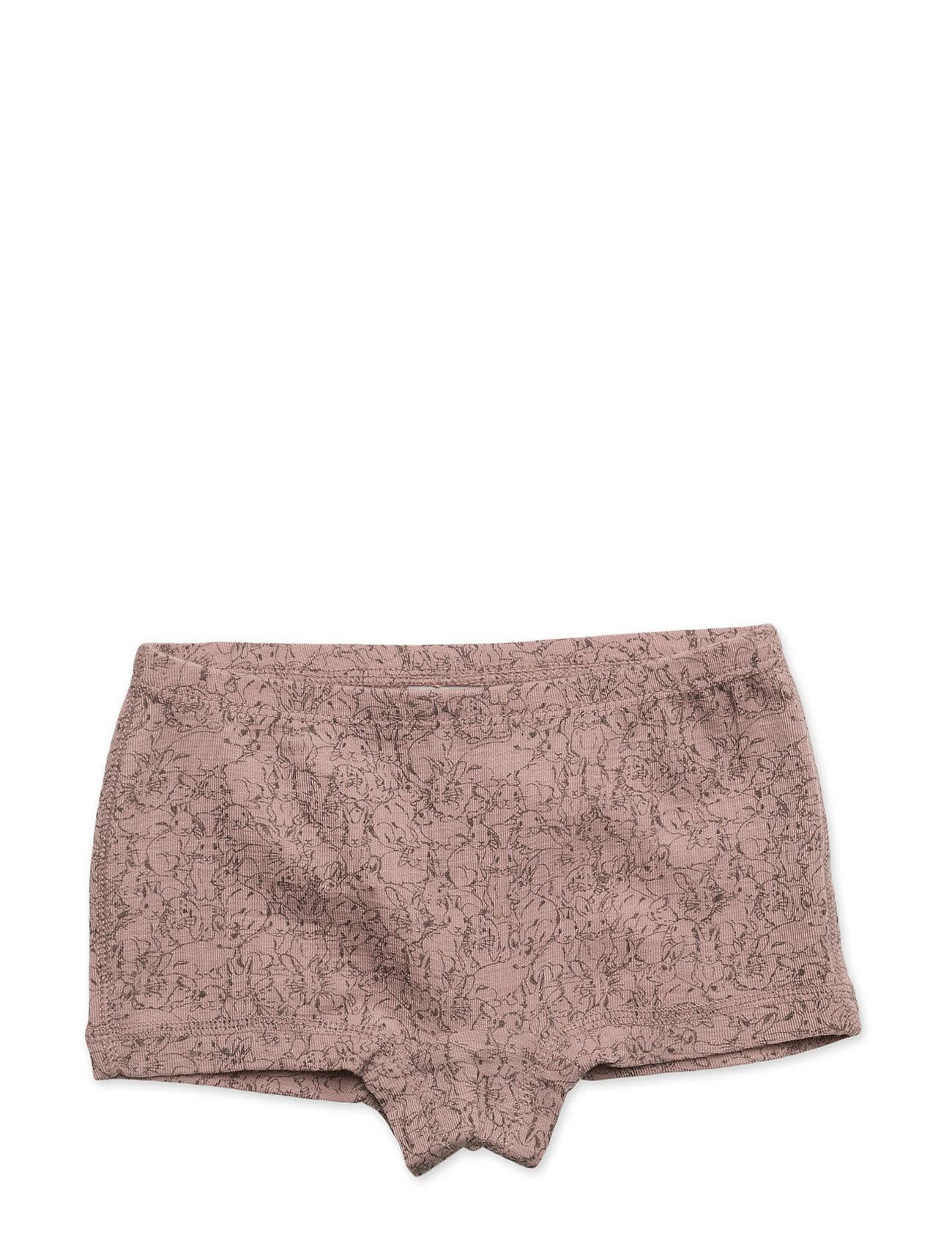Girls Wool Panties Wheat Undertøj til Børn i