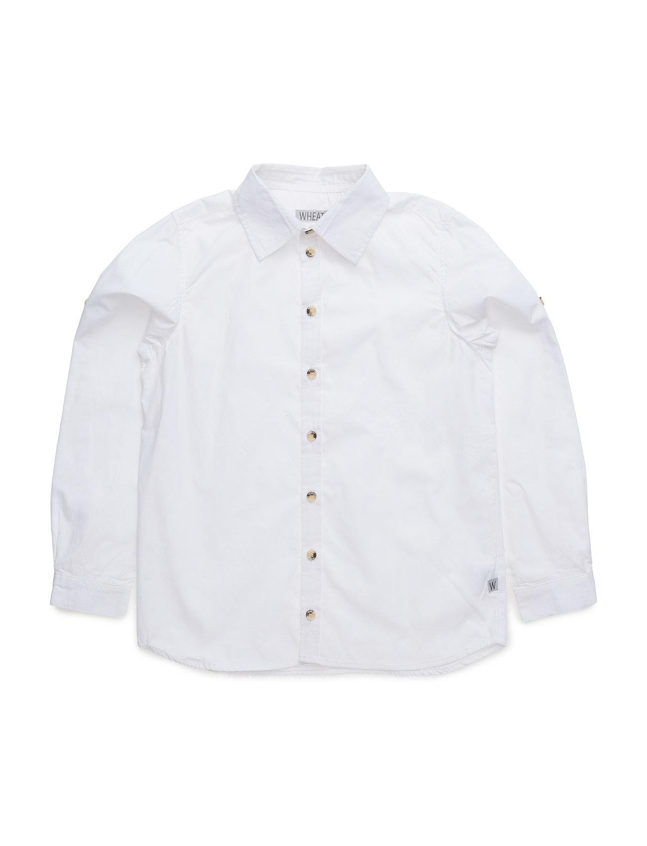 Shirt Pelle Ls Wheat  til Børn i hvid