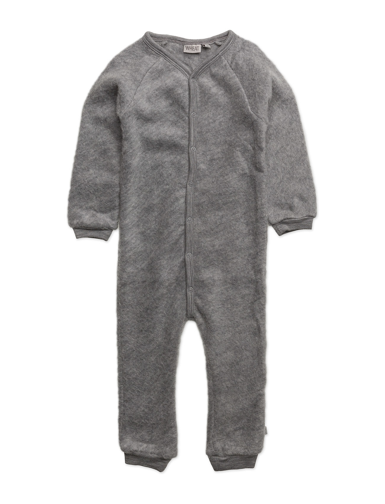Felted Wool Jumpsuit Wheat  til Børn i Melange Grey