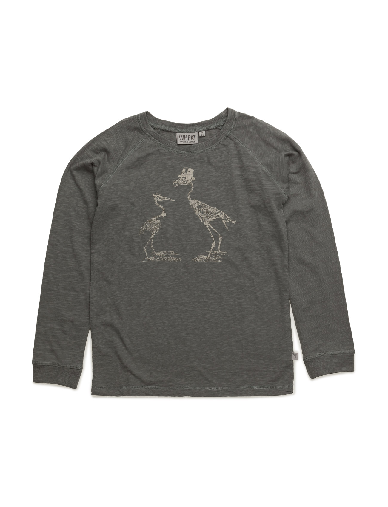 T-Shirt Skeleton Wheat T-shirts til Piger i Mørk Slate