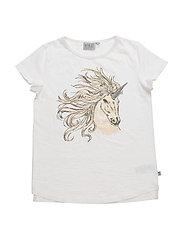 T-Shirt Cool Unicorn SS - IVORY