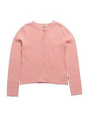 Knit Cardigan Betty - ROSE TAN