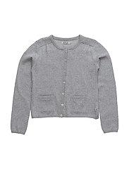 Knit Cardigan Ibi - MELANGE GREY