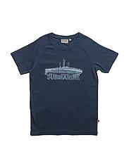 T-Shirt Submarine SS - INDIGO