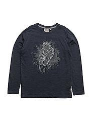T-Shirt Eagle LS - MIDNIGHT NAVY