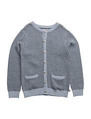 Knit Cardigan Tjalfe - SKY MELANGE
