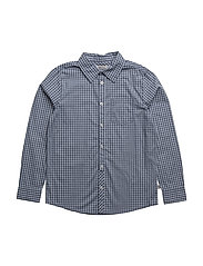 Shirt Olof LS - BLUE
