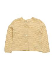 Knit Cardigan Betty - STRAW