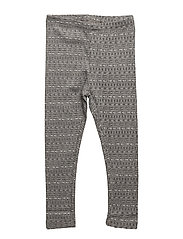 Jersey Leggings - MELANGE GREY