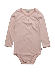 Body Frills LS - DARK ROSE