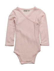 Body Around Frill Wool LS - PEONY