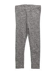 Wool Leggings - MELANGE GREY
