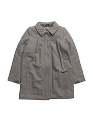 Wool Jacket Agate - MELANGE GREY